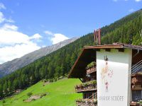Urlaub Reisen  Österreich Tirol Längenfeld Berghof Schöpf