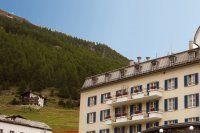 Urlaub Reisen  Schweiz Wallis Saas-Fee Hotel Du Glacier