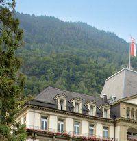 Urlaub Reisen  Schweiz Berner Oberland Interlaken Lindner Grand Hotel Beau Rivage