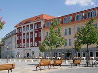 Urlaub Reisen  Deutschland Sachsen Bad Muskau Kulturhotel Fürst Pückler Park