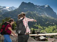 Urlaub Reisen  Schweiz Berner Oberland Grindelwald