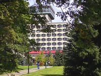 Urlaub Reisen  Deutschland Thüringen Friedrichroda AHORN Berghotel Friedrichroda