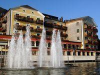 Urlaub Reisen  Österreich Oberösterreich St. Wolfgang Hotel Im Weissen Rössl