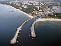 Urlaub Reisen  Polen Polnische Küste Kolberg