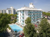 Urlaub Reisen  Italien Venetien Bibione Hotel Katja