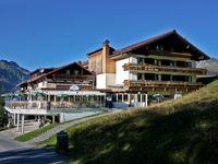 Urlaub Reisen  Österreich Vorarlberg St. Gallenkirch Alpenhotel Garfrescha