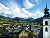Urlaub Reisen  Österreich Tirol Kitzbühel