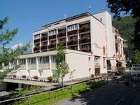 Urlaub Reisen  Schweiz Berner Oberland Meiringen Das Hotel Sherlock Holmes