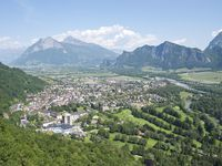 Urlaub Reisen  Schweiz St. Gallen Bad Ragaz