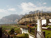 Urlaub Reisen  Italien Venetien Nago-Torbole Hotel Isola Verde