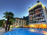 Urlaub Reisen  Schweiz Tessin Lugano Hotel Delfino