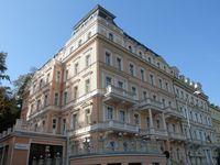 Urlaub Reisen  Tschechien Böhmen Karlsbad Hotel Humboldt Park & Spa