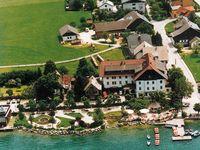 Urlaub Reisen  Österreich Salzburger Land Fuschl am See Seehotel Schlick