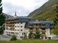 Urlaub Reisen  Österreich Tirol Galtür Hotel Fluchthorn