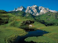Urlaub Reisen  Österreich Vorarlberg Gaschurn
