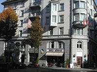 Urlaub Reisen  Schweiz Luzern Luzern (Vierwaldstättersee) Hotel Drei Könige
