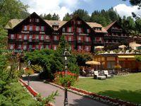 Urlaub Reisen  Schweiz Berner Oberland Grindelwald Romantik Hotel Schweizerhof
