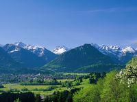 Urlaub Reisen  Deutschland Bayern Oberstdorf