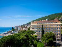 Urlaub Reisen  Kroatien Kvarner Bucht Opatija Hotel Palace-Bellevue