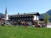 Urlaub Reisen  Österreich Salzburger Land Krimml Hotel Gasthof Zur Post