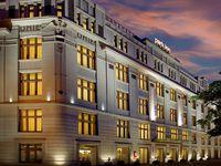 Urlaub Reisen  Tschechien Böhmen Prag (Städtereise) Park Inn Hotel Prague