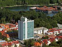 Urlaub Reisen  Ungarn Zala Héviz Hunguest Hotel Panorama