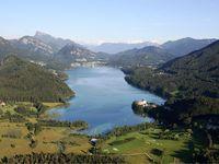 Urlaub Reisen  Österreich Salzburger Land Fuschl am See