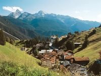 Urlaub Reisen  Schweiz Graubünden Davos