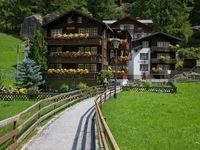 Urlaub Reisen  Schweiz Wallis Saas-Almagell