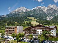 Urlaub Reisen  Österreich Salzburger Land Leogang Hotel Salzburger Hof