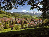 Urlaub Reisen  Deutschland Bayern Oberstaufen Hotel Bavaria
