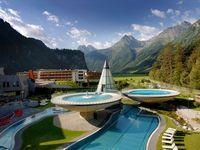 Urlaub Reisen  Österreich Tirol Längenfeld Hotel Aqua Dome