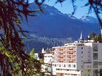 Urlaub Reisen  Schweiz Graubünden Arosa Hotel Cristallo