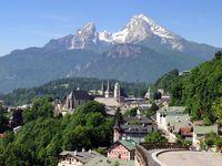Urlaub Reisen  Bayern Berchtesgadener Land Alpenhotel Bergzauber