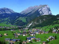 Urlaub Reisen  Österreich Vorarlberg Au