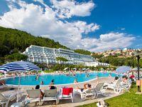 Urlaub Reisen  Kroatien Istrien Rabac Hotel Mimosa