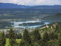 Urlaub Reisen  Österreich Kärnten Faaker See