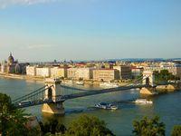 Urlaub Reisen  Ungarn Mittelungarn Budapest (Städtereise)