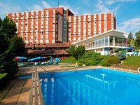Urlaub Reisen  Ungarn Zala Héviz Hotel Danubius Health Spa Resort Aqua