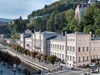 Urlaub Reisen  Tschechien Böhmen Karlsbad Hotel Windsor Spa