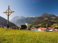 Urlaub Reisen  Österreich Tirol Schwendt