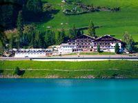 Urlaub Reisen  Italien Südtirol Vernagt Mountain Lake Hotel Vernagt