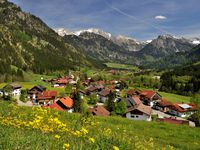 Urlaub Reisen  Deutschland Bayern Bad Hindelang