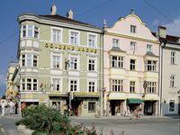 Urlaub Reisen  Österreich Tirol Innsbruck Hotel Goldene Krone