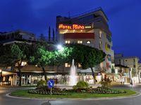 Urlaub Reisen  Italien Venetien Lignano Hotel Pasha