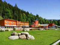 Urlaub Reisen  Tschechien Riesengebirge Spindlermühle Hotel AQUA Park Spindlermühle