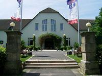 Urlaub Reisen  Deutschland Bayern Tröstau Golfhotel Fahrenbach