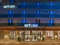 Urlaub Reisen  Ungarn Mittelungarn Budapest (Städtereise) Hotel Art´otel Budapest