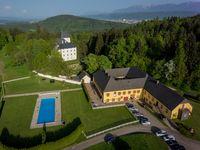 Urlaub Reisen  Österreich Kärnten Krumpendorf Hotel Gut Drasing