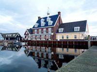 Urlaub Reisen  Niederlande Holländische Küste Huizen Hotel Nautisch Kwartier
